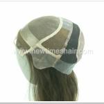 Fait sur commande perruque de silicone peau des femmes , perruque des femmes