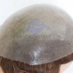 HS1-V Toupee en peau PU en stock permanent
