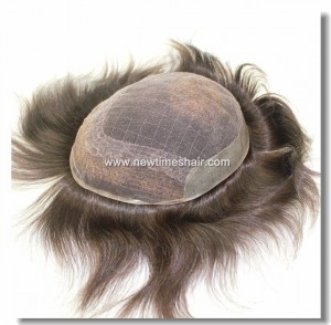 HS8-06 French-Lace-Base-with-PU-Coating-on-Sides-and-Back-Toupee-2
