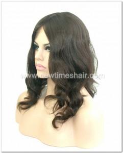 Wig avec cheveux mongole ou juif pour femmes 03