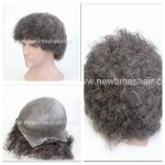 LJC1961 Toupee Afro For Black Men