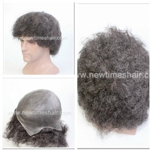 LJC1961 Toupee Afro For Black Men01