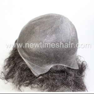 LJC1961 Toupee Afro For Black Men04