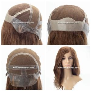 LL685 01 Lace wig avec antiderapant en silicone pour femmes
