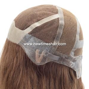 LL685 02 Lace wig avec antiderapant en silicone pour femmes