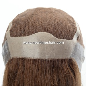 LL685 04 Lace wig avec antiderapant en silicone pour femmes
