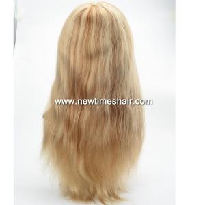 LW6138, 03 Full lace wig blonde et brun pour femmes