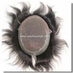 Q6 French Lace PU toupee postiche homme