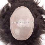 1601LL076 Postiche a base entierement enduite de Micro peau