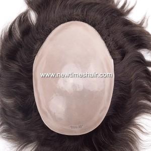 1601LL076 01Postiche a base entierement enduit de Micro peau