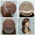 GN5460 Mono Top wig pour femmes Fait A La Main