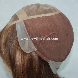 GN5460 03 Mono Top wig for women Fait A La Main