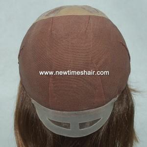 GN5460 04 Mono Top wig for women Fait A La Main
