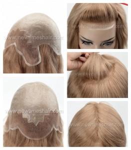 LJ2705 01 Full Wigs avec Lace Front et Poly pour femmes
