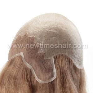 LJ2705 06 Full Wigs avec Lace Front et Poly pour femmes