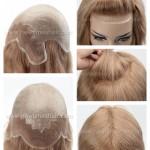 LJ2705 Full Wigs avec Lace Front et Poly pour femmes