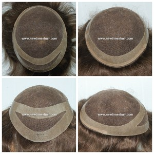 LJC373-01 German-lace-human-hair-toupee-for-men