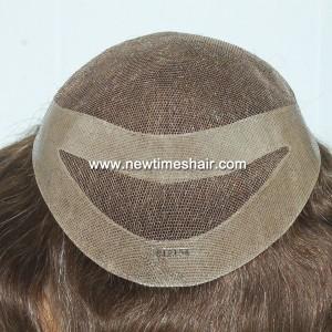 LJC373-04 German-lace-toupee-cutaway-back
