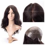 LL648 Wig cheveux humains Micro peau et silicone pour femmes