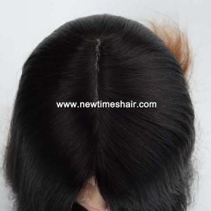 LW5781 02 Wig avec bonnet en soie couleur Ombre pour femmes