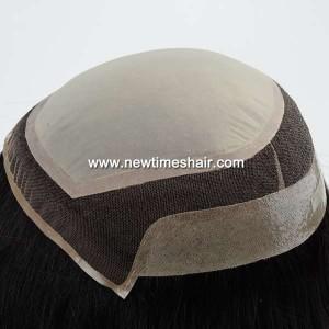 LW5781 03 Wig avec bonnet en soie couleur Ombre pour femmes