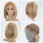 LX393 Bob Style Full lace wig sans colle pour femmes