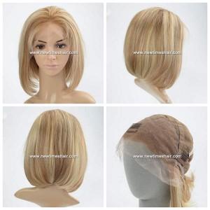 LX393- 01 glueless-full-lace-wig-bob-style-wig