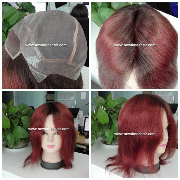 lw6991 cheveux virgin rouge vin pour femmes. Black Bedroom Furniture Sets. Home Design Ideas