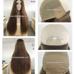 LW7283 Cheveux Virgin wig medicale