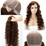 LW7179 Belle perruque sur mesure cheveux naturels pour femmes