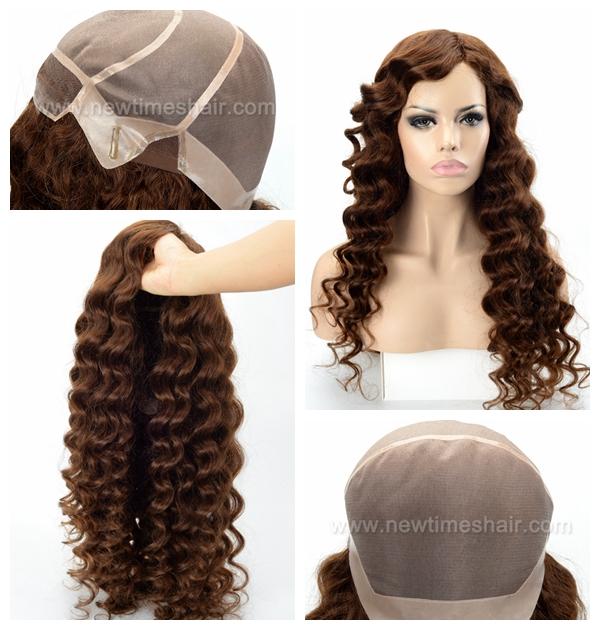 LW7179 Belle perruque sur mesure cheveux