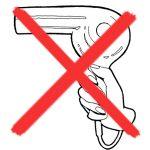 Secher les produits capillaires sans seche-cheveux
