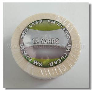 12 yard adhesive transparent