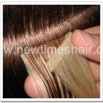 Les Extensions de cheveux sur ruban a double face