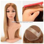 Wig en lace invisible pour femmes