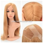 Lace wig avec silk top