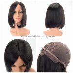 Wig Bob style cheveux naturels noirs